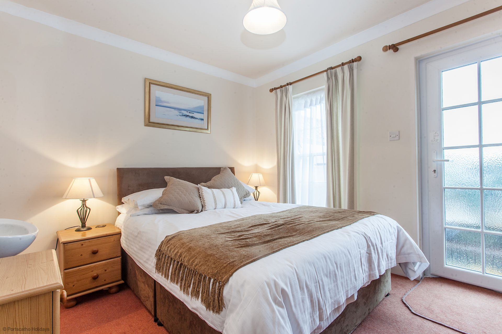 Sea View; St. Mawes; Cornwall; Master Double Bedroom