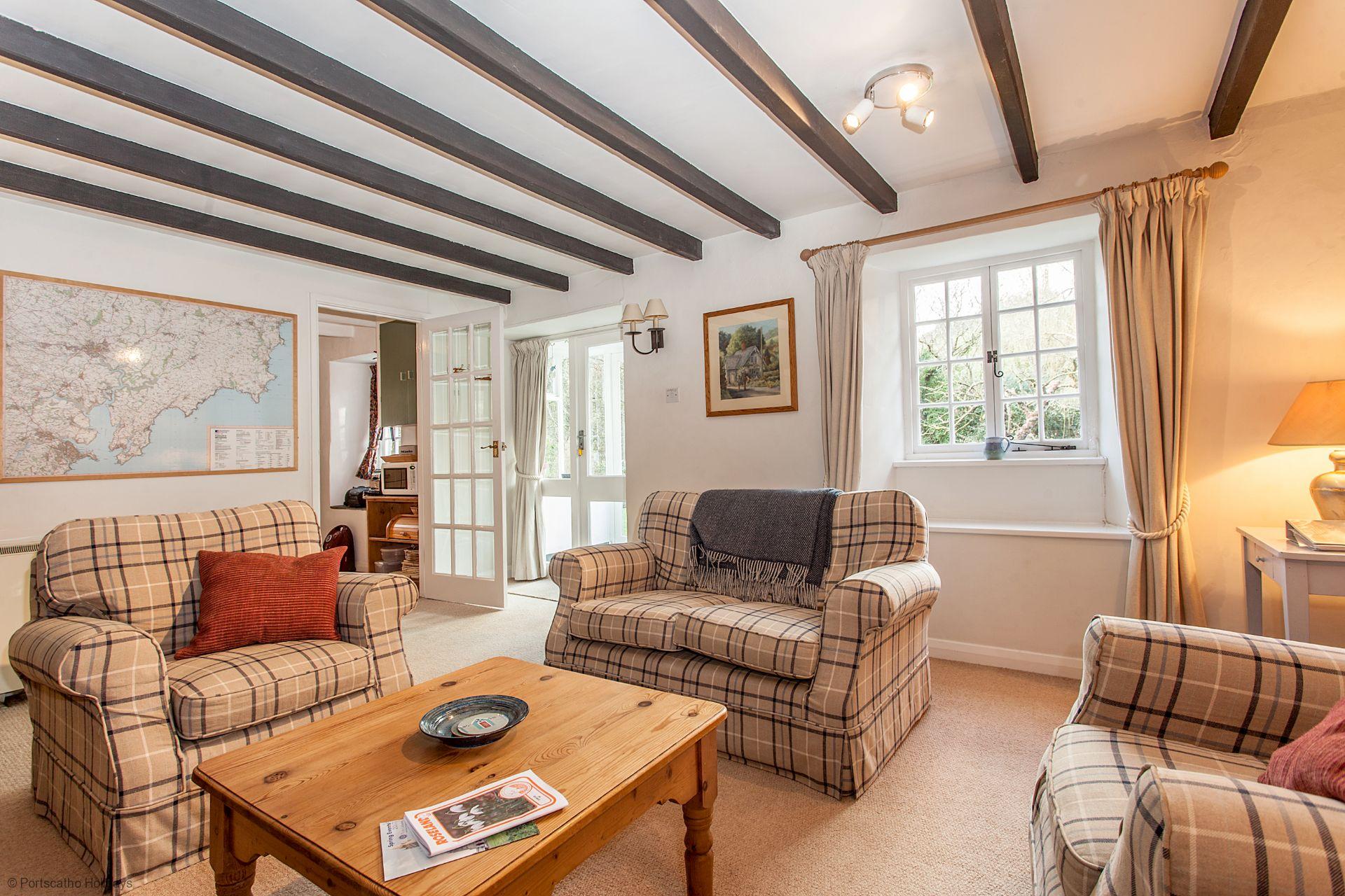Pedlars; Ruan Lanihorne; Cornwall; Lounge
