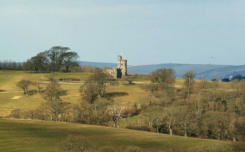 Tawstock Castle sits in approximately 8 acres of its own parkland