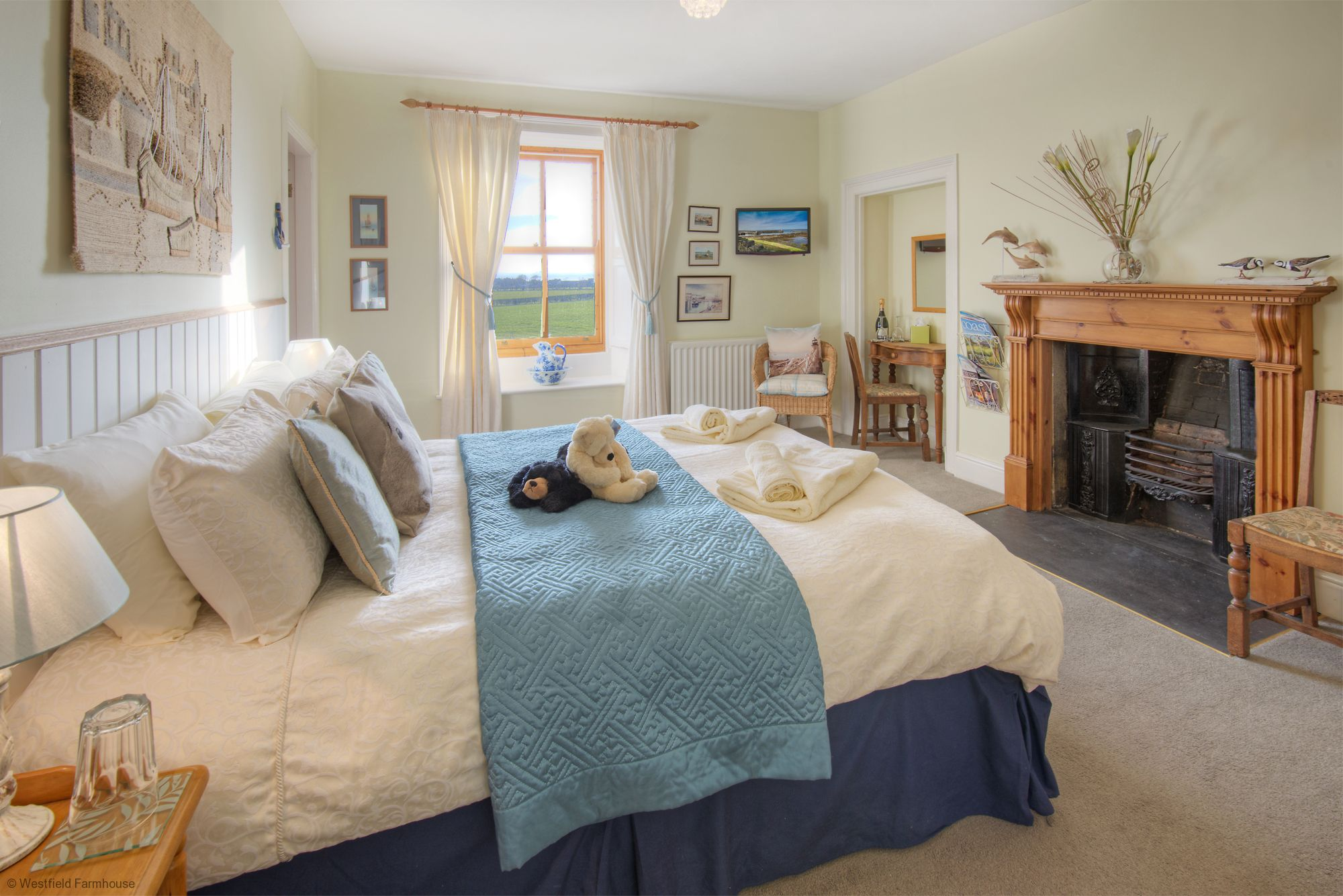 Bed and Breakfast in friendly Northumberland Farmhouse Stay
