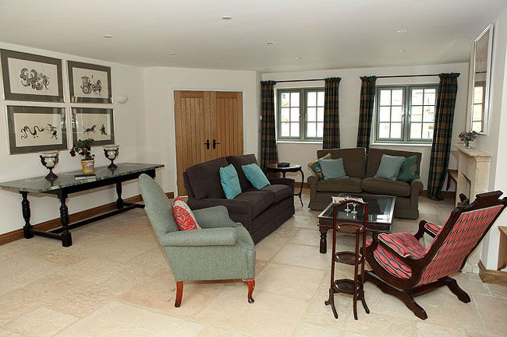 Ground floor: Sitting area in the open plan living space