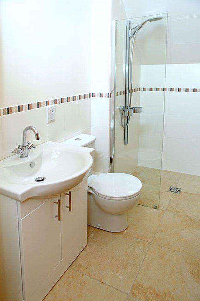 Second floor: En suite walk-in shower room to twin bedroom