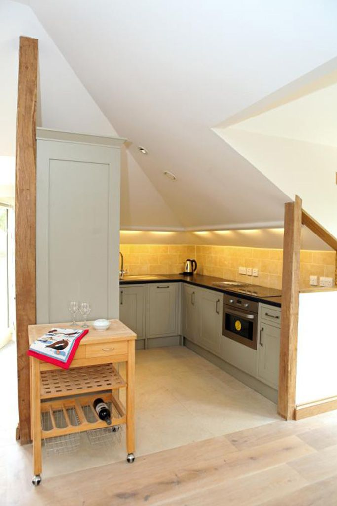 Fully fitted well-appointed kitchen area