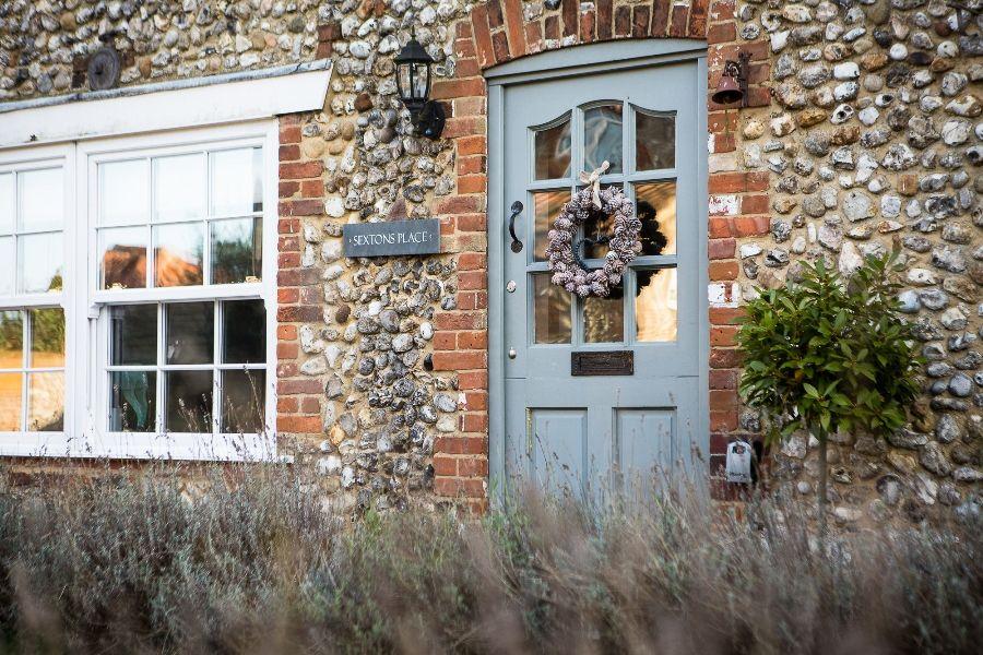 Sexton's Place   Front door