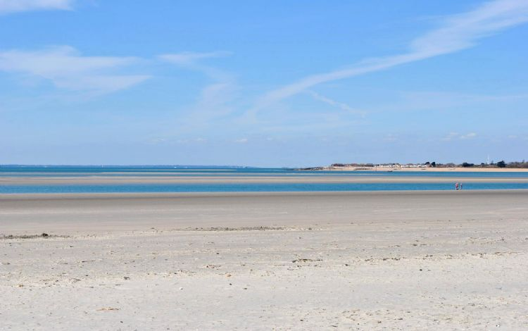 West Wittering's sandy beach