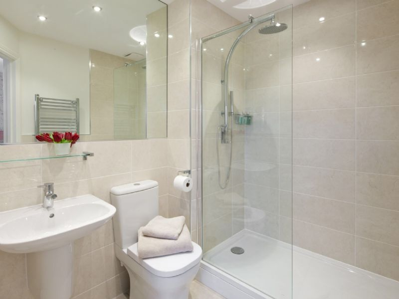 spacious ensuite shower room, 2nd ensuite has bath & shower over