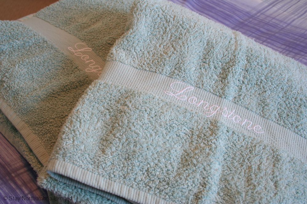 Longstone embroidered towels