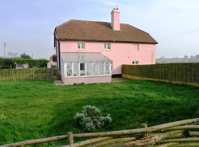 Pink Cottage | Pink (LHS) and Pinkleton (RHS)