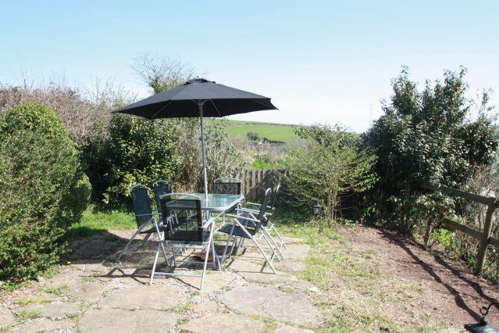 Sunny terrace garden