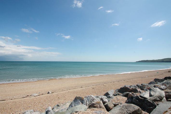 Beesands beach is close by