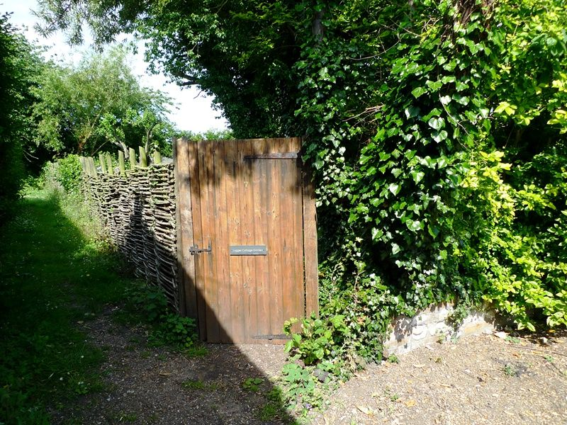 Lugger Cottage | Gate to garden