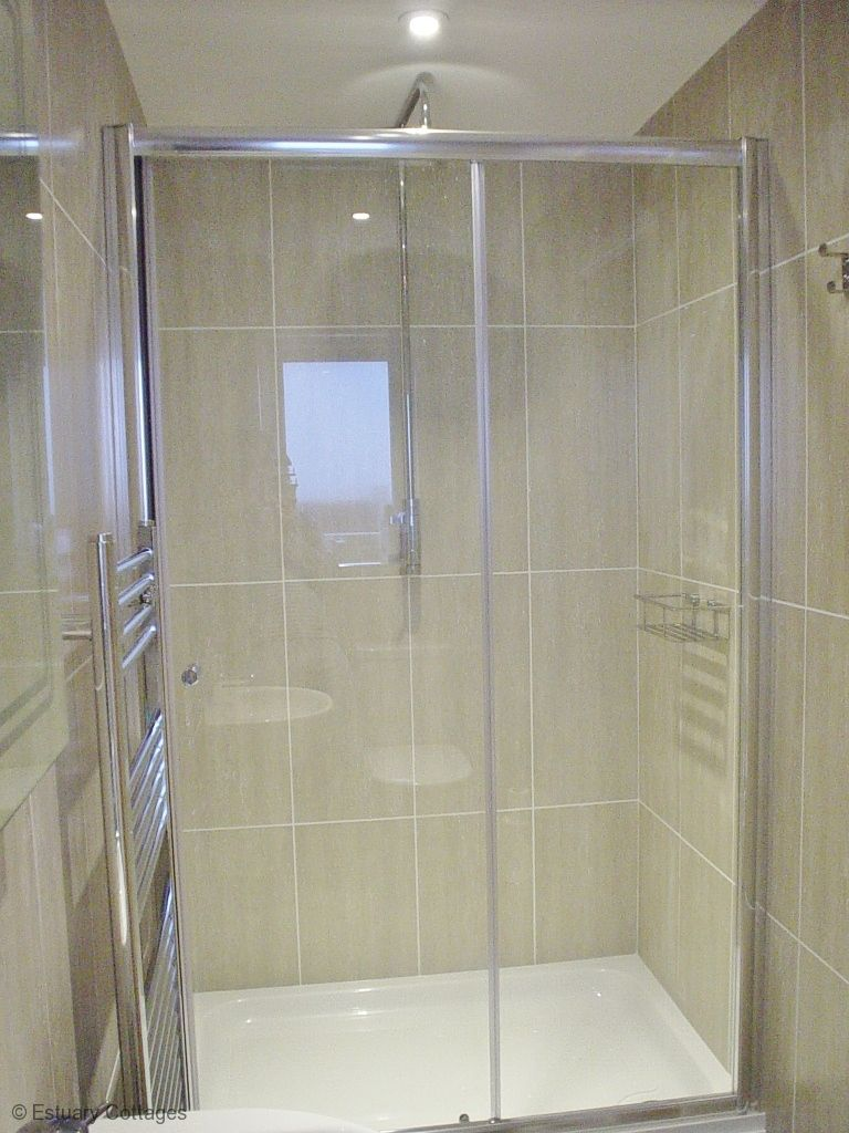 Ensuite shower room of Master bedroom