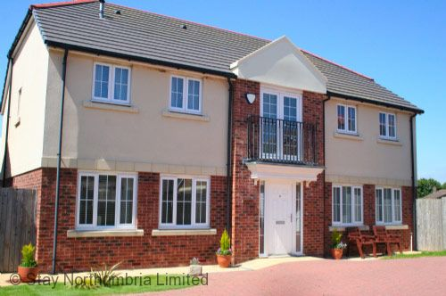 A modern 5 bedroom house on the edge of this coastal development