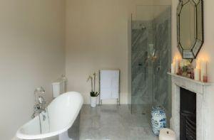 First floor:  One of the twelve sumptuous bathrooms