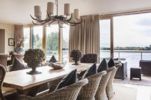 Dining Room with uninterupted views over Bowmoor lake