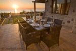 Alfresco Dining at Sunset