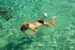 Snorkel in Clear Blue Sea