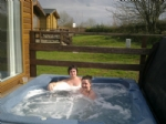 ROE DEER LODGE, (Hot Tub)  Hutton Rudby, Yorkshire
