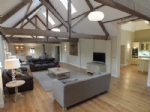 The open plan space: ideal for special occasions!