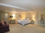 Large and stylish master bedroom