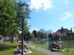 Sit awhile and feed the ducks at Goudhurst, Kent