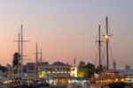 Paphos Harbour at Dusk (4km)