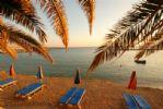 Coralli Beach at Dusk