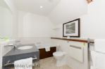 Duck Pond Lodge -En-suite bathroom with bath and separate shower