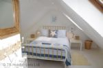 Harbour Heights - Double Loft bedroom showing 2 velux windows with a view