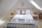 Harbour Heights - Double loft bedroom showing bed
