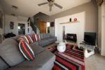 Corner Sofa and Stove