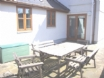 Gower Cottage  - enjoy a fine meal on the enclosed patio