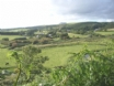 Llangain village from a footpath - a 5 star Holiday in North Wales