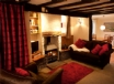 Warm, cosy living room at your luxury holiday cottage Snowdonia