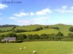 Mid Wales countryside surrounding this charming Welsh holiday cottage