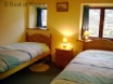 Holiday cottage in Snowdonia - one of two cosy twin bedrooms