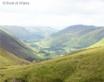 Bwlch y Groes looking back towards Llanymawddwy