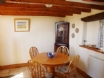 Dining area at this welcoming Solva holiday cottage