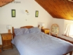 Charming double bedroom at this Solva holiday cottage for 2