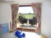 Solva holiday cottage: beautiful coastal view from the kitchen window