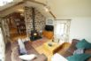 Wooden floors, luxurious furnishings, leather sofa, Sky TV, video and music system