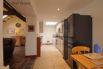 Kitchen includes electric cooker, fridge freezer & dishwasher