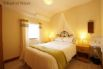 Beautiful double bedroom at this 5 star cottage near the coast