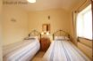 Twin bedroom at Stabal Madrun cottage near the beach & Abersoch