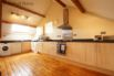 Large, spacious and fully equipped kitchen at Llofft Madrun cottage