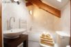 Main bathroom includes a Jacuzzi bath for relaxing and unwinding.