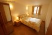 Holiday Cottage nr Barmouth - double bedroom with garden views