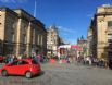 Looking down towards entrance to Edinburgh Fringe Festival 2017