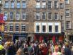 Advocates Close Apartment building during Edinburgh Fringe Festival