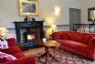 Eland - Lounge with wood burner